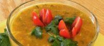 طرز تهیه سوپ سبزيجات ساده