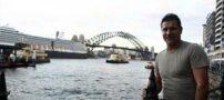 علی دایی در كنار دل پیرو در استرالیا