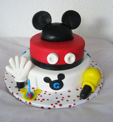 مدل های جالب و دیدنی از کیک تولد با طرح میکی موس