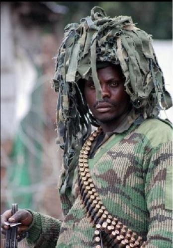 تصاویر جالب و دیدنی از استتار های نظامیان