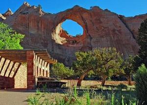 عکس های زیبا از صخره پنجره در آمریکا