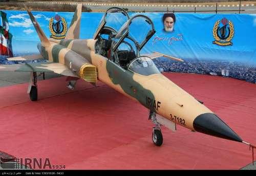 تصاویری از رونمایی از جنگنده صاعقه 2