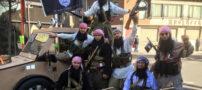 کارناوال مسخره کردن داعشی ها در بلژیک + عکس
