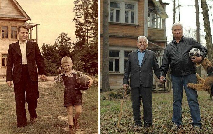 عکس های جالب انسان ها در گذر زمان