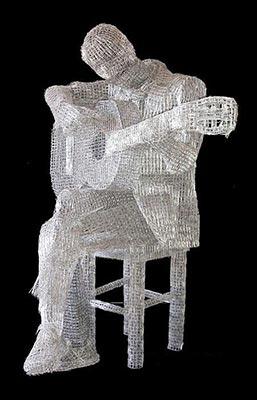 مجسمه های زیبا با گیره های کاغذ (عکس)