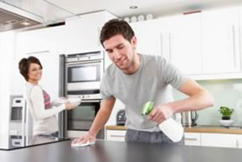 نکاتی برای تمیز کردن آشپزخانه