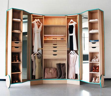 مدل های جدید دکوراسیون کمد لباس