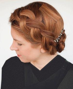آموزش تصویری گام به گام آرایش موها