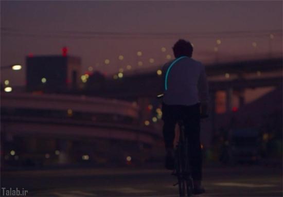 حلقه شب تاب جالب مخصوص دوچرخهسواران