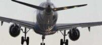 مهارت فوق العاده خلبان در فرود هواپیما (عکس)