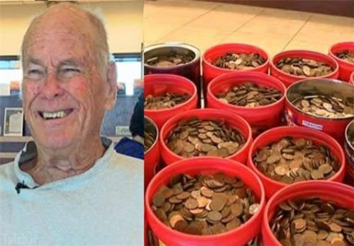 جمع کردن بیش از 80 هزار سکه توسط این مرد + عکس