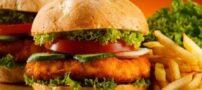 قدیمی ترین همبرگر دنیا + عکس