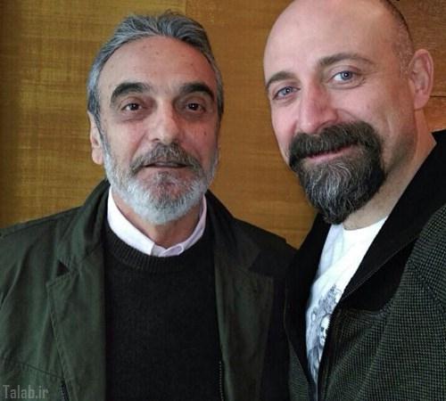 بازیگر ایرانی در کنار سلطان سلیمان (عکس)