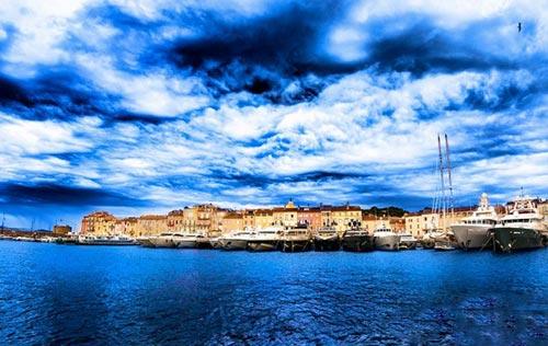 تصاویر جزیره شگفت انگیز در مرز ایتالیا و فرانسه