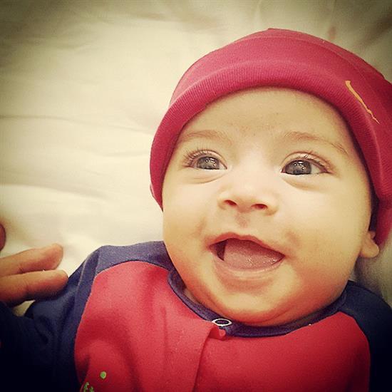 عکس نوزاد دختر محسن یگانه