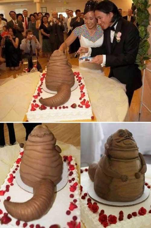 عکس های دیدنی از زشت ترین کیک های عروسی