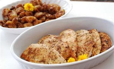 آموزش طرز تهیه مرغ سرخ شده با لیمو عمانی