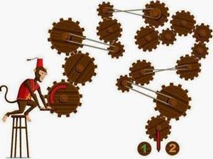 تست هوش جالب میمون و چرخ دنده ها