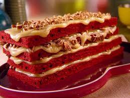 طرز تهیه تصویری کیک مخملی قرمز