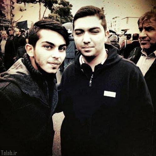 ارسلان قاسمی در راهپیمایی روز 22 بهمن (عکس)
