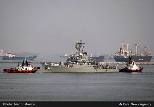 تصاویری از ناوگروه ایران در اندونزی