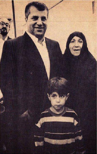 عکسی از مادر علی پروین