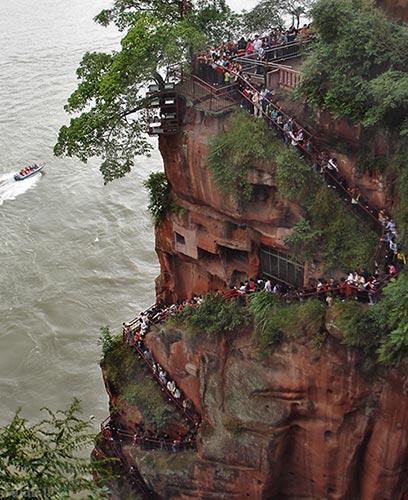 تصاویر دیدنی از یکی از بزرگ ترین مجسمه های بودا