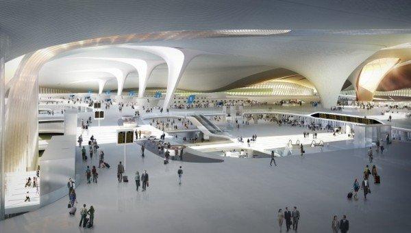 بزرگترین فرودگاه جهان در پکن چین !+ تصاویر