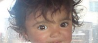 تصاویر گلشا دختری 2 ساله قربانی اعتیاد در خانه تیمی