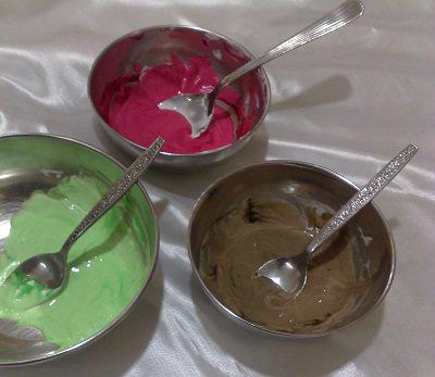 طرز تهیه رنگ خوراکی طبیعی