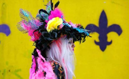 عکس هایی از لباس های عجیب و غریب در یک فستیوال آمریکایی