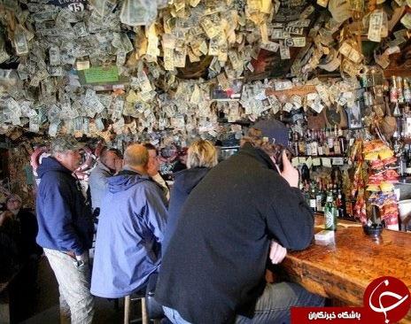 رستورانی که از در دیوار آن پول می بارد (+عکس)