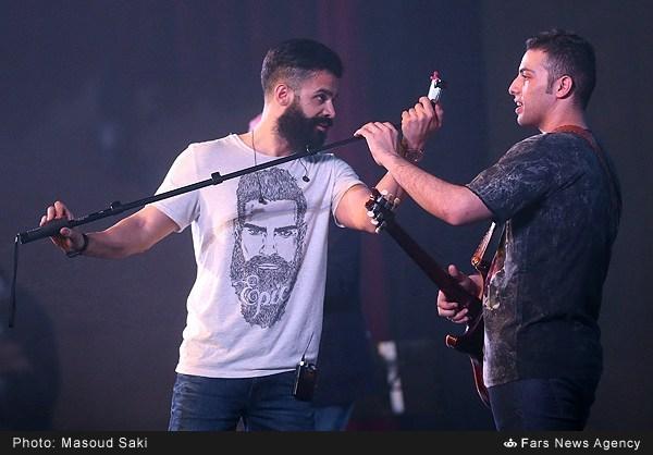 عکس سلفی سیروان خسروی در جشنواره فجر