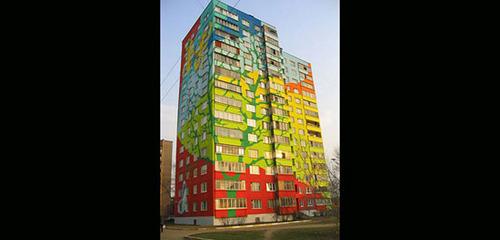 جالب ترین خانه های رنگی جهان !+ عکس