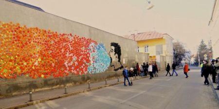 فستیوال جالب پیام های دیواری (عکس)
