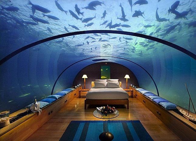 تصاویر زیبا از اولین هتل 5 ستاره در زیر دریا
