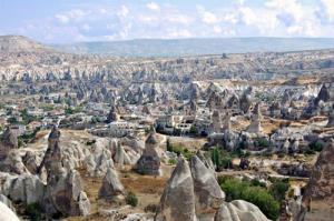 تصاویر منطقه شگفت انگیز آتشفشانی در ترکیه