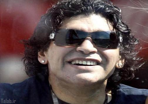 عکس های چهره مارادونا پس از عمل زیبایی
