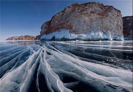 نقاشی های زیبا از طبیعت مناطق مختلف در زمستان