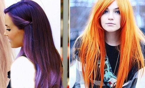 هایلات های زیبای فانتزی مو دخترانه