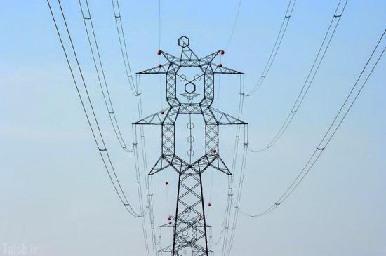 دکل های برق متفاوت و خلاقانه