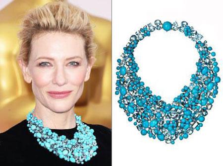 مدل های جدید جواهرات رنگارنگ اسکار 2015