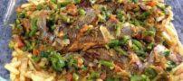طرز درست کردن ماهى و سبزيجات برای شب عید