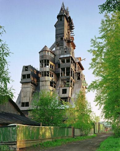 عکس های دیدنی از عجیب و غریب ترین خانه ها