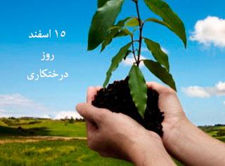 15 اسفند روز درختکاری
