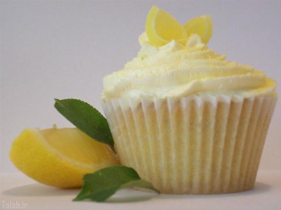 طرز تهیه کاپ کیک لیمویی خوشمزه