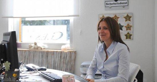 دختر ایرانی ، کارآگاه خصوصی در آلمان + تصاویر
