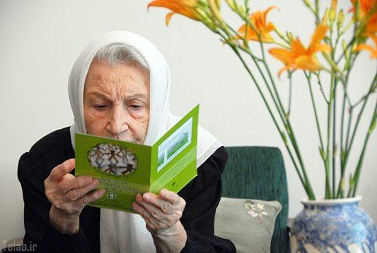 زن ایرانی که به مدت 60 سال زباله تولید نکرد