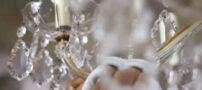 روش تمیز کردن لوسترهای کریستالی