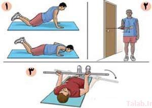 درمان سریع آسیب دیدگی شانه با ورزش